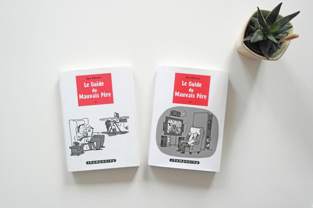 """""""Le Guide du Mauvais Père"""" , tomes 1 et 2"""