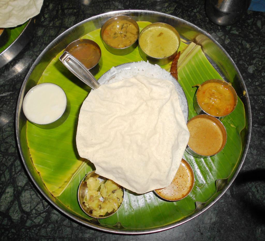 L'Inde vue de mon assiette
