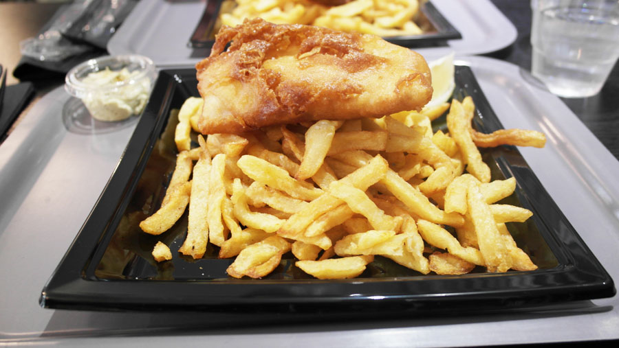 Manger un Fish & Chips à Paris