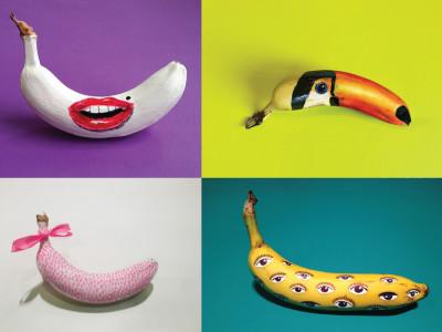 Graffiti sur banane, ça vous dit ?