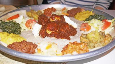 J'ai mangé éthiopien