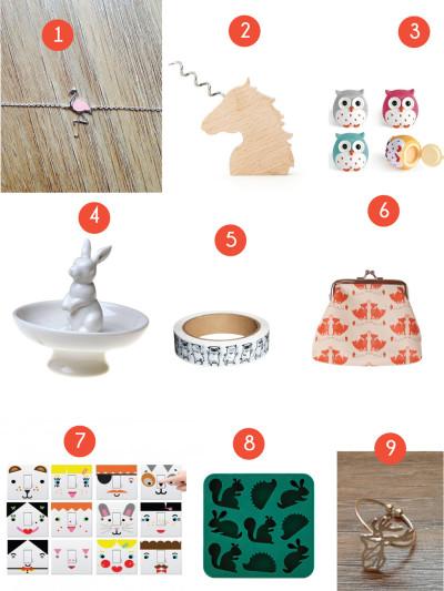 Noël entre copines : 9 idées de cadeaux spécial animaux à – de 10 € !