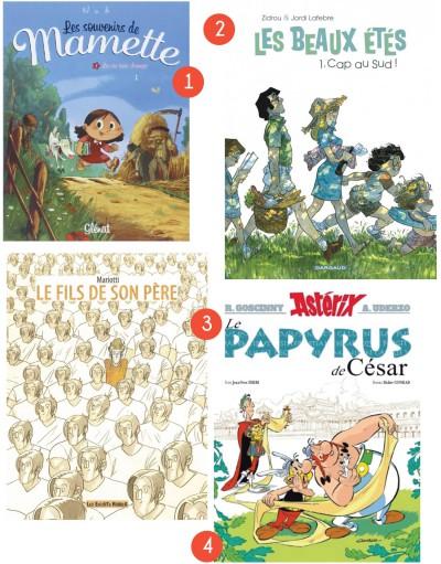 Les 12 bandes dessinées à offrir à Noël