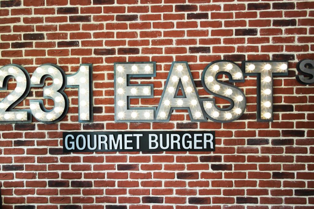 L'art du burger avec 231 East Street !