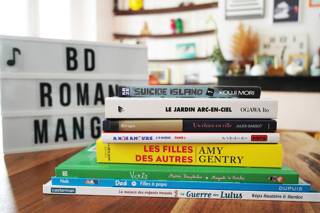 Mes 8 idées de lecture pour cet été !